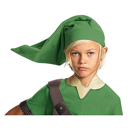 Link Legend Of Zelda Girl Costume (Link Child Hat)