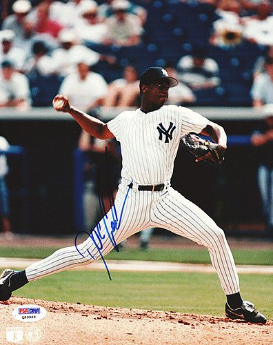 Dwight Doc Gooden Signed 8x10 Photograph Yankees - Certified Genuine Autograph By PSA/DNA - Autographed Photo