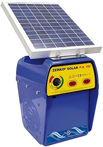 Pastor eléctrico Zerko-Solar 10 w.