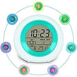 Cijoka Alarm Clock for Kids, Cute Girls ...