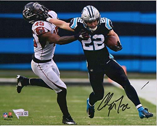 Carolina Panthers Collectibles - Christian McCaffrey Carolina Panthers Autographed 8