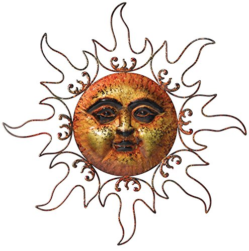 Regal Art and Gift 10050 Marble Sun Wall Decor, Bronze (Discontinued by Manufacturer) (Art Metal Sun Large Wall)
