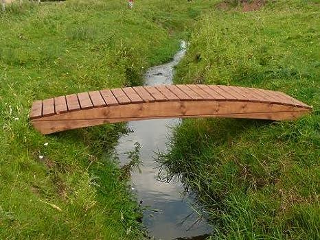 Puente del jardín Regatta curvado (cm 91, 44 Regata CB): Amazon.es: Jardín