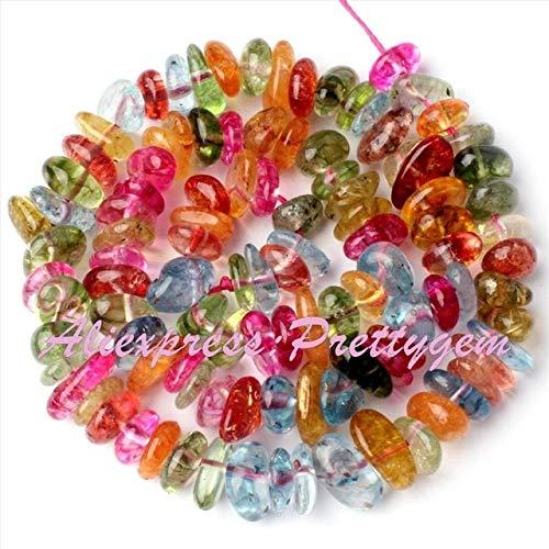 Calvas 3x6-6x9mm Freeform Apatite,Larimar,Labradorite,Granet Bead Natural Stone Beads for Necklace DIY Jewelry Making 15