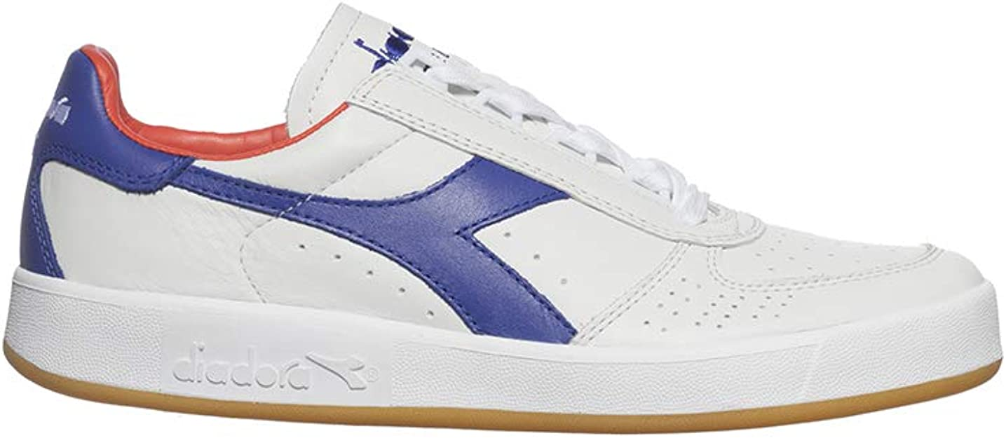 Diadora, Uomo, B. Elite Italia, Pelle, Sneakers, Bianco