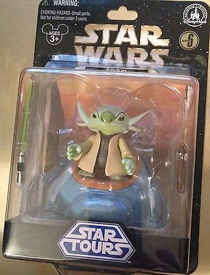 Disney Star Wars Star Tours Stitch As Yoda Series 6 Action Figure New Sealed