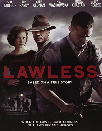 Lawless BD Steelbook [Blu-ray]