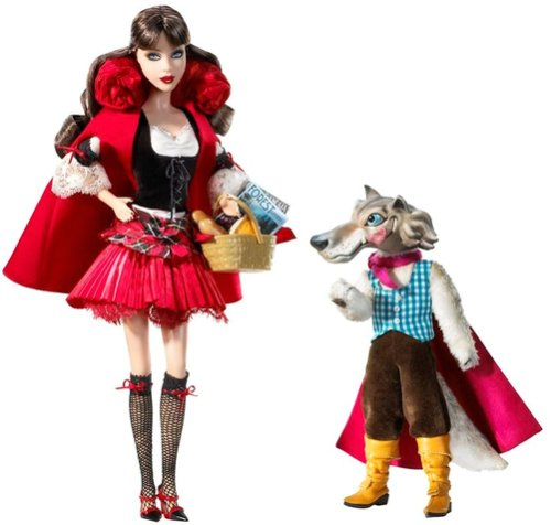 (Little Red Riding Hood and the Wolf Barbie Giftset)