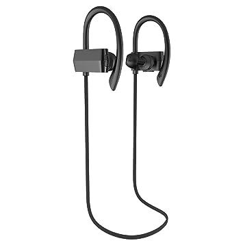 Auriculares Deportivos, fetta inalámbrico Bluetooth 4.1 ...