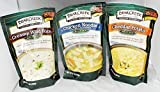 Bear Creek Country Kitchens Soup Mix 3 Flavor Variety Bundle: (1) Creamy Wild Rice Mix, (1) Cheddar Potato Soup Mix, and (1) Chicken Noodle Soup Mix, 9.3-12.1 Oz. Ea. by Bear Creek
