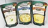 Bear Creek Country Kitchens Soup Mix 3 Flavor Variety Bundle: (1) Creamy Wild Rice Mix, (1) Cheddar Potato Soup Mix, and (1) Chicken Noodle Soup Mix, 9.3-12.1 Oz. Ea. by Bear Creek