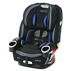 Graco 4Ever DLX 4-in-1 Car Seat gives you 10 years of use with 1 car seat, now upgraded with 3 additional features! The best-selling 4Ever you know and love now features a RapidRemove cover, an integrated belt lock-off for easy installation a...