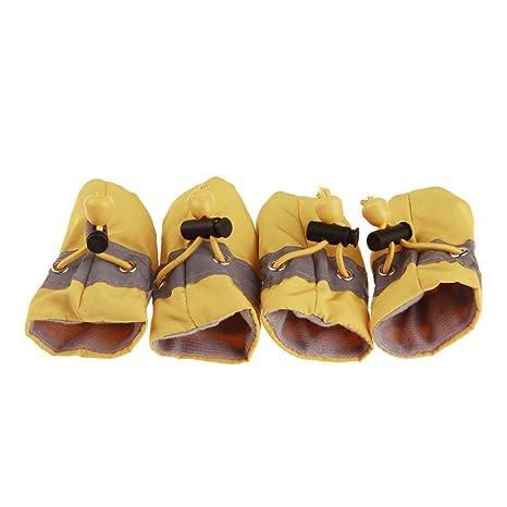 LbojailiAi Zapatos para Perros y Mascotas Botas Zapatillas ...