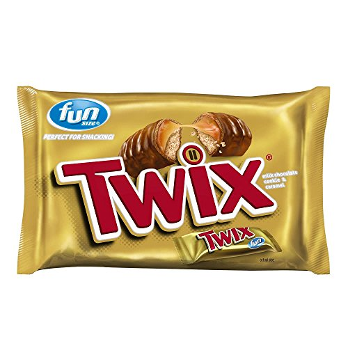 TWIX Fun Size Caramel and Chocolate Cookie Bars, 10.83 Ounce