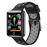 Leoie 1.54 Super-large Screen Full Zinc Alloy IP68 Ultra-long Standby Time Sports Smart Watch Bracelet for IOS&Android