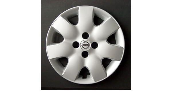 Wheeltrims Set de 4 embellecedores nuevos para Nissan Micra 2002> / Note/ Almera 2000-2006 / Primera 2000-2008 con Llantas Originales de 15: Amazon.es: ...