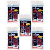 500 Ultra Pro Soft Card Sleeves/Penny Sleeves (5 Sealed Packs) - Standard Size 2 5/8 x 3 5/8, NO PVC by Ultra Pro