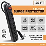 Digital Energy 6-Outlet Surge Protector Power Strip