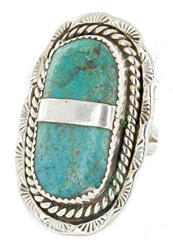 Navajo Turquoise Ring - 7
