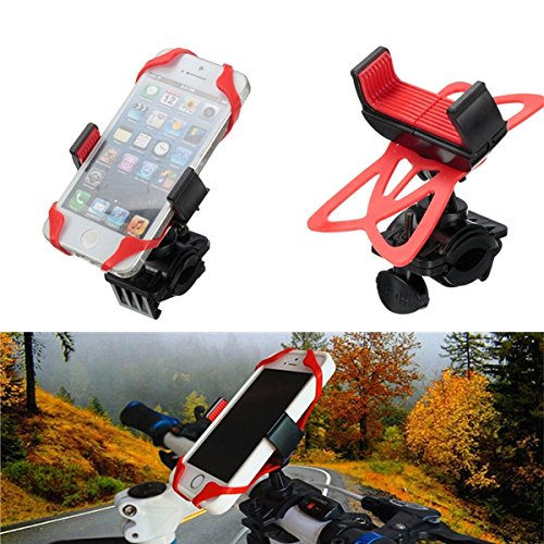 Price comparison product image Universal Motorcycle Bike Handlebar Mount Holder Band For Cell Phone