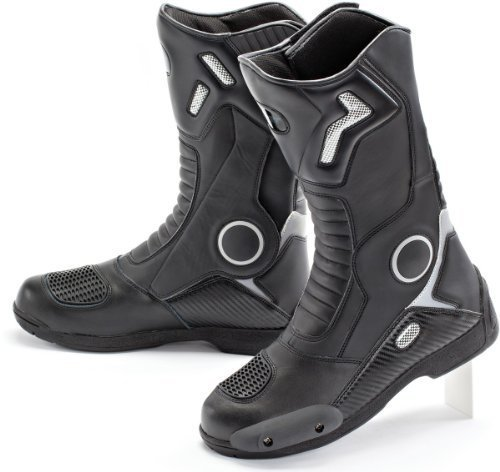 Joe Rocket 1377-0012 Ballistic Touring Men's Boots (Black, Size 12) by Joe Rocket (Image #1)
