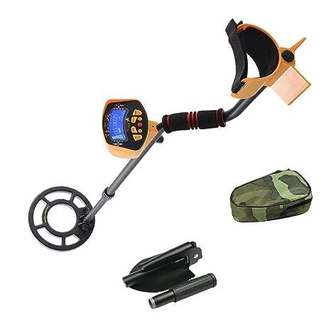 Smartey - Detector de Metales Profesional de Alta sensibilidad, Resistente al Agua, Detector de
