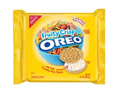 Oreo Limited Edition Fruity Crisp Sandwich Cookies 10.7 oz