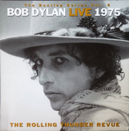 Bob Dylan Concert Poster - Bob Dylan - Rolling Thunder Revue: Live 1975 - Rare Advertising Poster - 12x12