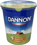 Dannon All Natural Quart Vanilla Lowfat Yogurt, 32 Ounce - 6 per case.