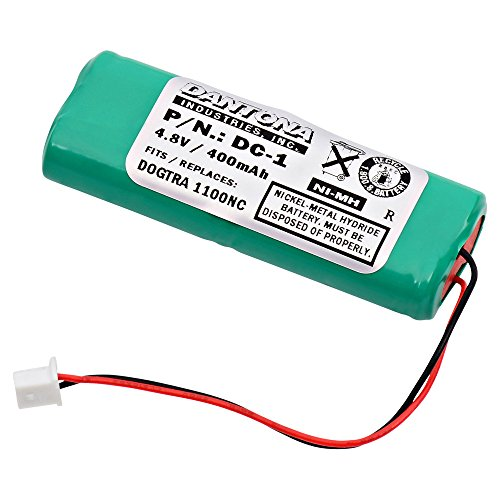 Dog Receiver Beeper - Dog Collar Replacement Battery for Dogtra - 2000 Training & Beeper Receiver
