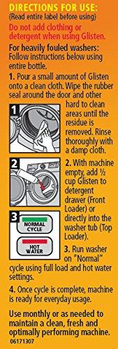 Glisten Washer Magic Washing Machine Cleaner & Deodorizer, 12 Fl. Oz. Bottle, 12 Pack by Glisten (Image #4)