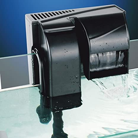 HBL 502 Filtro externo de mochila mochila Cascada 4 W 500 l/h acuario Dolce Marino: Amazon.es: Hogar