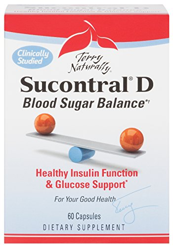 Terry Naturally Sucontral D - Blood Sugar Balance*† 60 Capsules