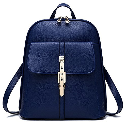 fashion-leather-backpack-for-women-girls-casual-book-bag-sports-travel-daypack-blue