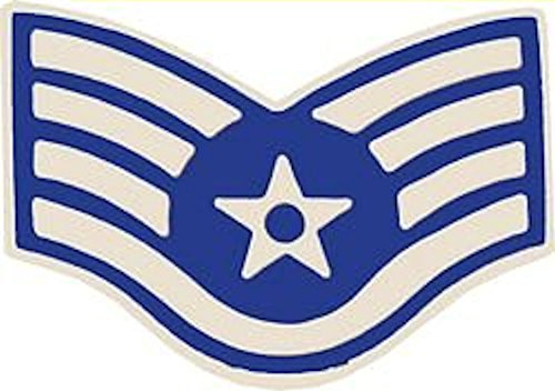 U.S. Air Force E-5 Staff Sergeant Small Hat Pin