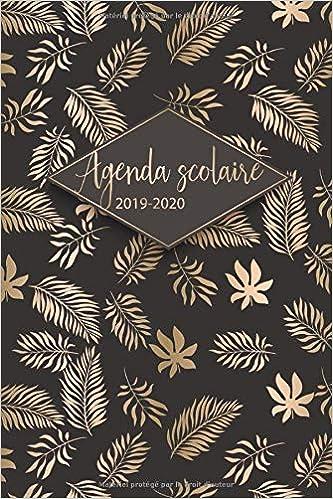 Amazon.com: Agenda Scolaire 2019 - 2020: Agenda Scolaire et ...