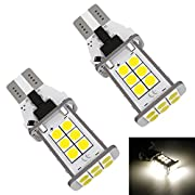 Amazon #DealOfTheDay: LUYED 2 X 1550 Lumens Extremely Bright Error Free 921 912 W16W 3030 24-EX Chipsets LED Bulbs Used For Backup Reverse Lights, Xenon White(Brightest backup light on the market)