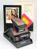 POLAROID SX 70 MODEL 3 LAND CAMERA WITH BOX PACKAGING AND INSTRUCTIONS