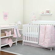 NoJo Dreamer - Pink/Grey Floral 8 Piece Comforter Set