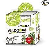 Wild Zora - Meat & Veggie Bars (10 pack) (Apple Pork)