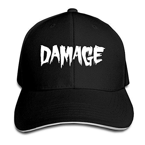 topseller-unisex-damage-adjustable-peaked-baseball-hats-caps