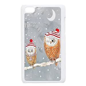 GGMMXO Owl Phone Case For Ipod Touch 4