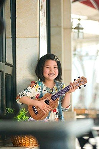 Alida Ukuleles Mahogany Soprano Ukulele Bundle included Carrying Bag, Strap, Spare Strings and Picks for Adults Children Students Kids Ukulele Kit - Image 6