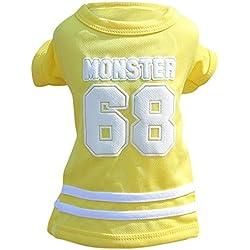 Clearance Pet Clothes Cinsanong Pet Sports T-Shirt for Small Dog Cat Summer Shirt for Puppy