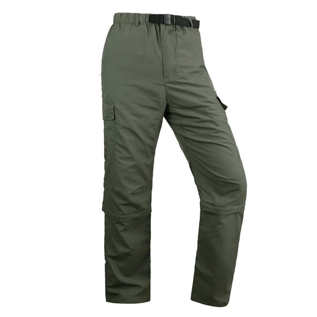 1KTon Men's Outdoor Sports Quick-drying Pants Detachable Windproof Ultra-Light Pants by 1KTon