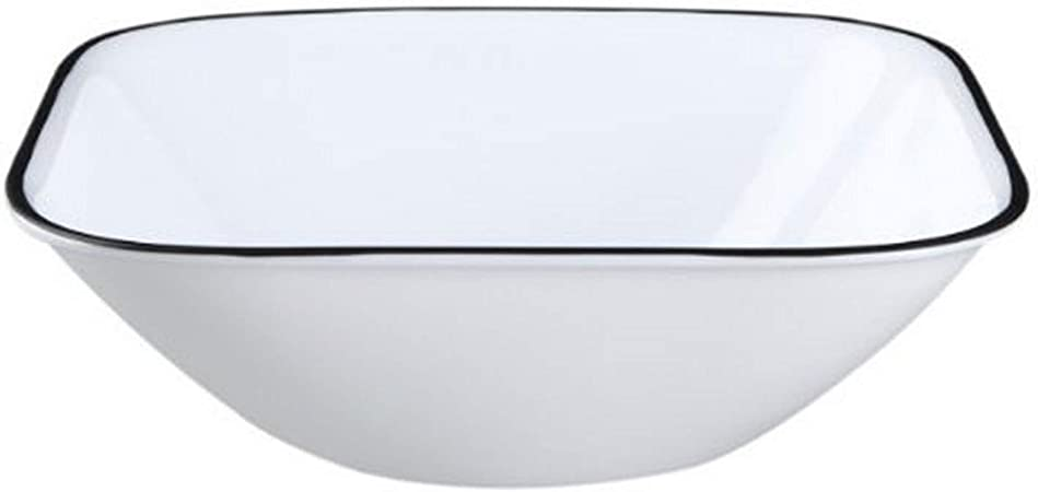 Set of 6 Corelle Square 22-Ounce Soup//Cereal Bowl White