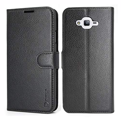 Galaxy J7 Neo/J7 Nxt/J700 Case Wallet, Samsung Galaxy J7 Leather Case, Dekii Ultra Slim Soft PU Leather Flip Cover with Credit Card Slots, Magnetic Closure Phone Protective Case for Samsung Galaxy J7
