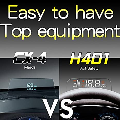 Amazon com: TOOGOO 3 7''Car Truck HUD Digital Head Up