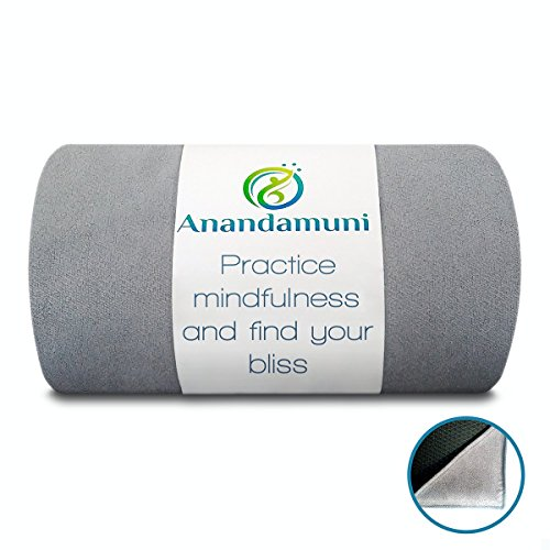Hot Yoga Towel Non Slip (28' by 72') Perfect for Wider MATS (i.e Manduka Pro) with Corner Pockets to...