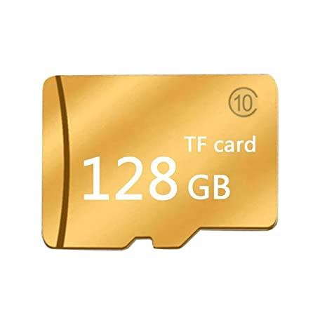 Amazon.com: Tarjeta de memoria Micro SD Tf de oro, clase 10 ...
